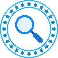 Ícone de pesquisa de vetor
