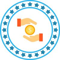 Vektor Geld sparen Symbol