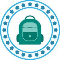 Icona del pacchetto borsa vettoriale