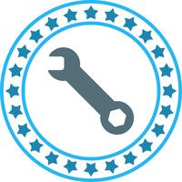 Vector Wrench Icon