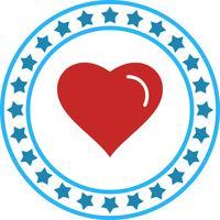 Vector hart pictogram