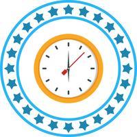 Vector icono de reloj