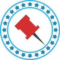 Vector Pin ícone