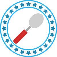 Icona del cucchiaio di vettore
