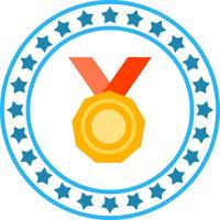 Vector icono de medalla