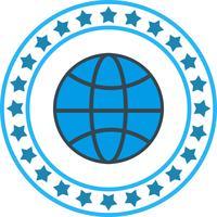 Vector World Globe Icon