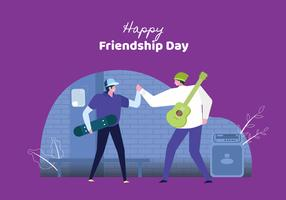 Young People Celebrate Friendship Day