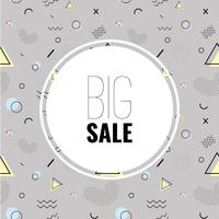 Abstract vector background Sale banner