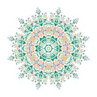 Mandala, Vektor-Mandala, Blumenmandala, Blumenmandala, Orienta