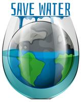 A save water concept