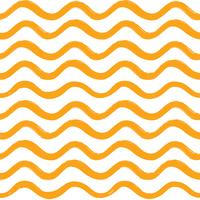 Abstract wave seamless pattern. Wavy line ornament