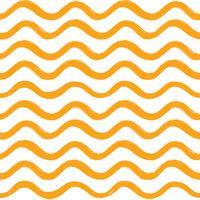 Padrão sem emenda de onda abstrata. Ornamento de linha ondulada