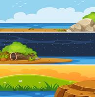 Set di paesaggio pianeggiante