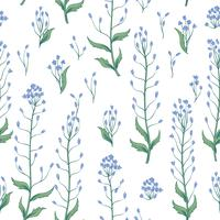Floral seamless pattern. Flower background. Flourish wallpaper with flowers.