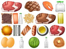 Sats av hälsosam mat