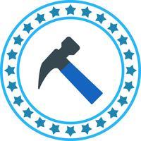 Icona del martello di vettore