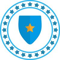Vector icono de escudo