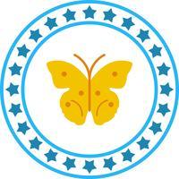 Icona della farfalla vettoriale