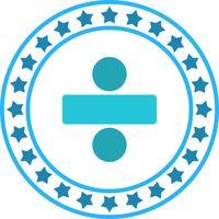 Vector divide icono