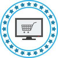Vector Online Shopping Icon