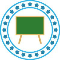 Vektor Black Board ICON