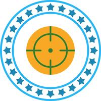 Vector Dart Icon