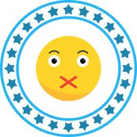 Vektor Stille Emoji-Symbol