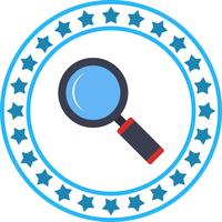 Vector Magnifire Glass Icon