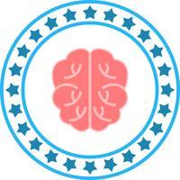 Vector hersenen pictogram