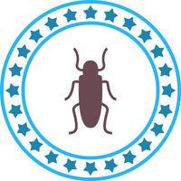 Icona di vettore scarafaggio