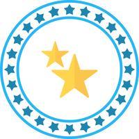 Vector ícone de estrelas
