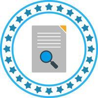 Zoekpictogram vectordocument