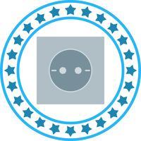 Ícone de soquete de vetor
