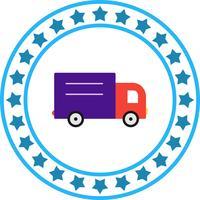 Icono de camión de cargador de vector