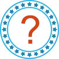 Vektor Fragezeichen-Symbol