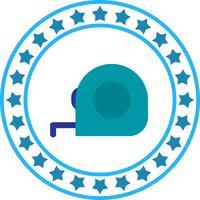 Ícone de fita de medição de vetor