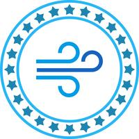 Vektor-Luftstoß-Symbol