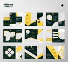 Pack de vecteur de brochure entreprise moderne