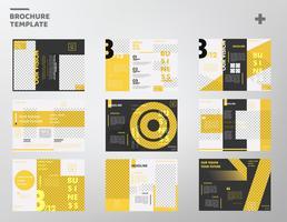 Pack de vecteur de modèle de brochure d'affaires moderne