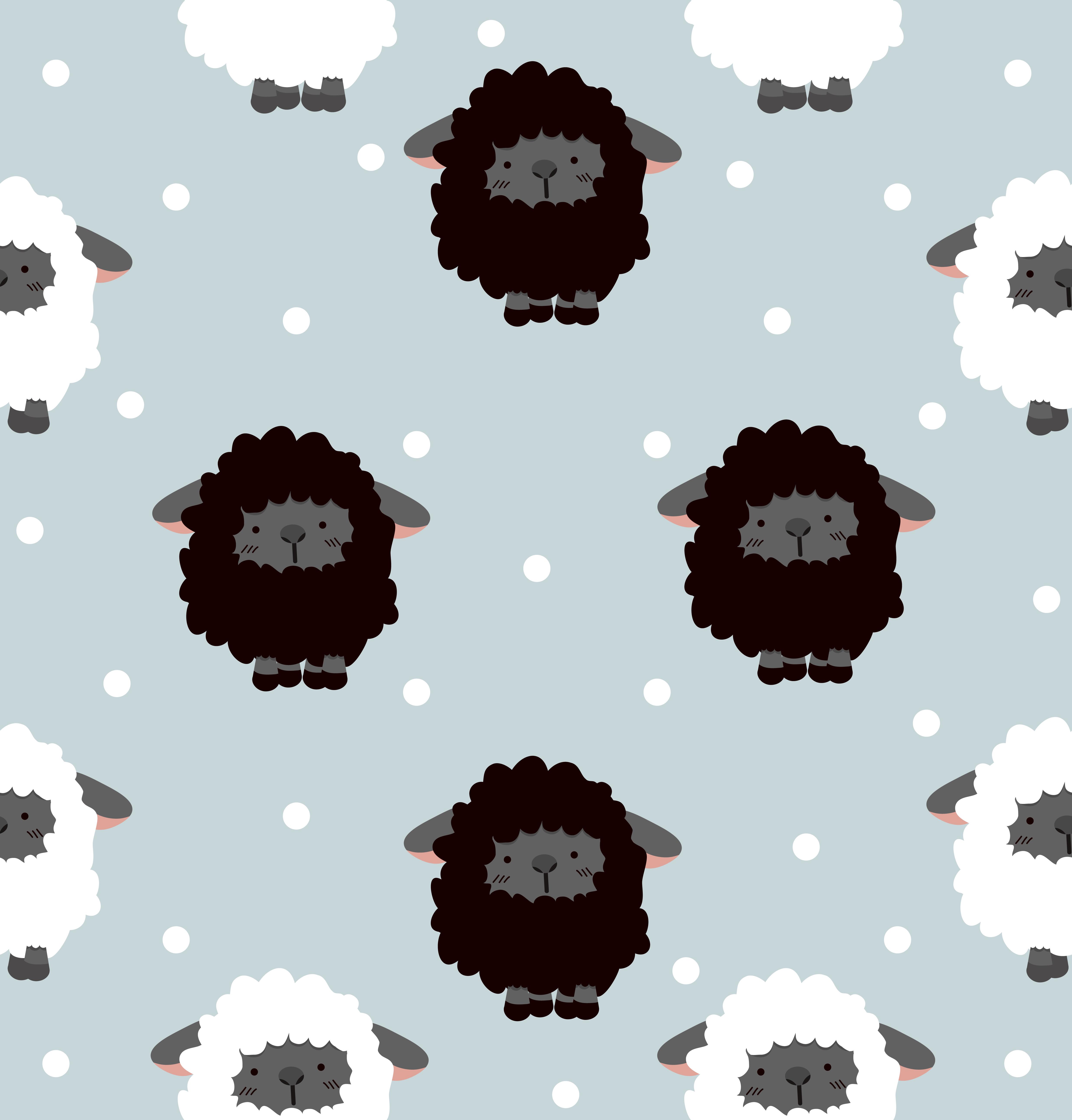 Ovelha Negra Com Ponto Download Vetores Gratis Desenhos De
