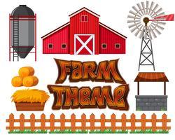 Set di scena agricola