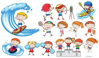 Doodle Kids Sport Activities Competition