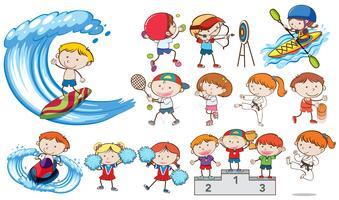 Concurso de actividades deportivas Doodle Kids