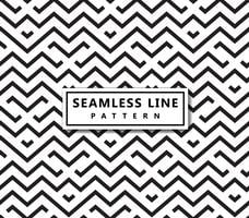 Line geometric pattern . Seamless vector background. Black textu