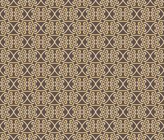 Seamless pattern decorative symmetries, ornament pattern vector