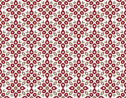 Patrón floral abstracto sin fisuras simetría de estilo moderno