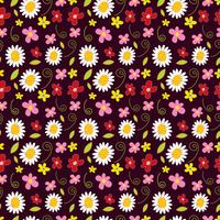 flower spring seamless pattern background