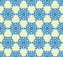 geometric flower floral seamless pattern background