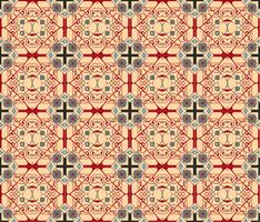 Patrón de ornamento inconsútil árabe. Patrón decorativo ornamental
