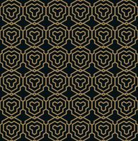 Vector seamless pattern. Modern stylish texture. Geometric linea